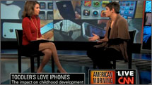 Tovah P. Klein CNN iPhone: Toy of Choice for Kids?